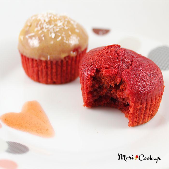 Νηστίσιμα Cupcakes Με Παντζάρι