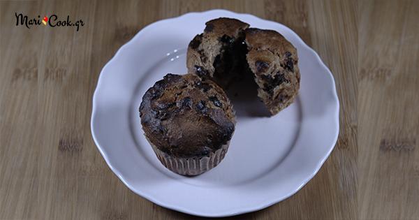 Συνταγή για Muffins με μπανάνα και σοκολάτα