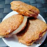 Γεμιστά Cookies Με Βρώμη Και Μέλι