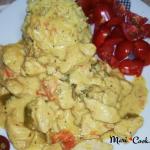 Συνταγή Με Κοτόπουλο, Πιπεριές, Μπύρα Και Γιαούρτι