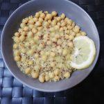 Ρεβύθια Σούπα Με Κινόα, Λεμόνι και Ρίγανη