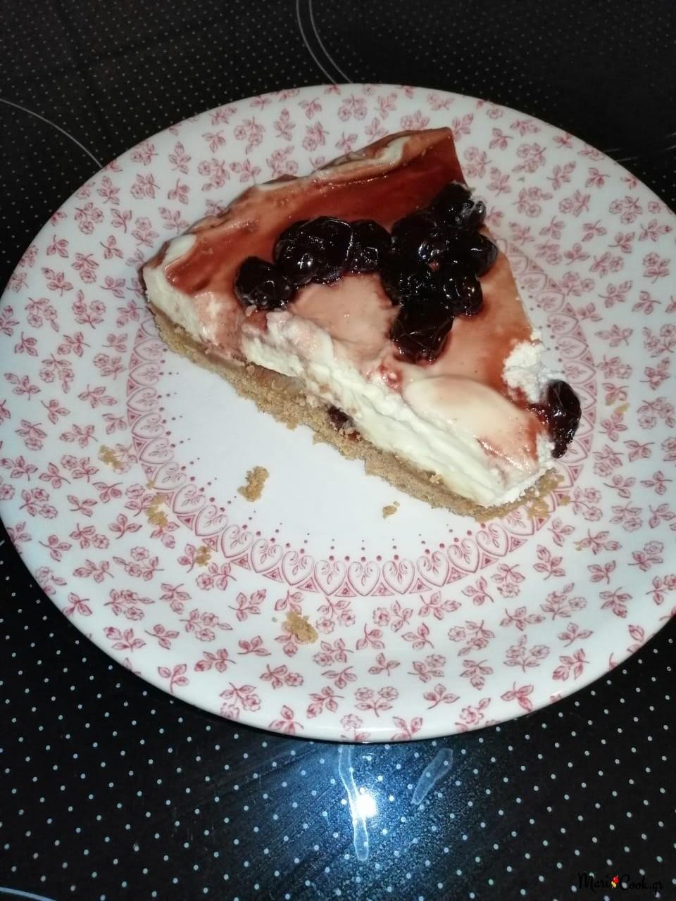 Cheesecake Με Γιαούρτι - Ελαφρύ