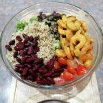 Σαλάτα Με Γαρίδες Και Κινόα - Bowl